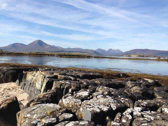 Just one of the beautiful views out of our office Window on the Isle of Skye